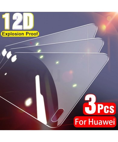 3Pcs Tempered Glass For Huawei P30 P40 P20 Lite Pro P10 Plus P Smart 2019 Screen Protector For Huawei Mate 30 20 10 Lite Glass