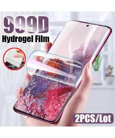 Hydrogel Film Screen Protector For Samsung Galaxy S7 edge S10 S20 S9 Plus Ultra For A50 A51 A70 A30S S10E Soft Screen Protector