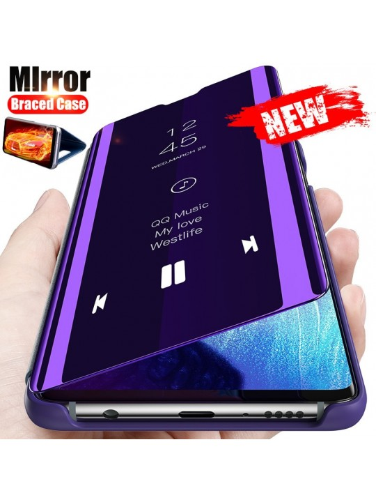 Smart Mirror View Flip Case For Huawei Honor 9X P40 P30 P20 Y9 Y7 Y6 Pro P Smart 2019 2020 Mate 30 20 10 Lite Cover Capa Coque